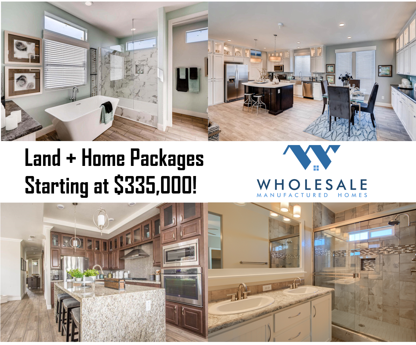Land + Home Package, Move-In Ready This Winter!